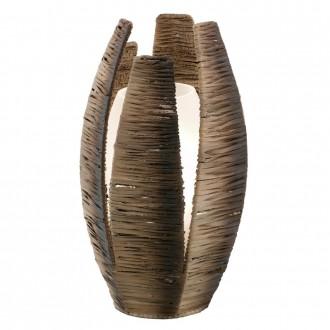 EGLO 91014 | Mongu Eglo asztali lámpa 30cm vezeték kapcsoló 1x E27 barna
