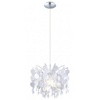 EGLO 91046 | Fedra Eglo függeszték lámpa 1x E27 króm, áttetsző