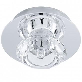 EGLO 91192 | Bantry7 Eglo mennyezeti lámpa 1x G9 króm, kristály