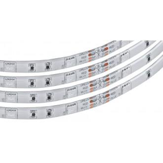 EGLO 92067 | Eglo_LS_Flex_IP Eglo LED szalag RGB lámpa távirányító szabályozható fényerő, színváltós 1x LED 600lm RGBK IP44