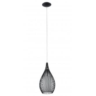 EGLO 92252   Razoni Eglo függeszték lámpa 1x E27 fekete