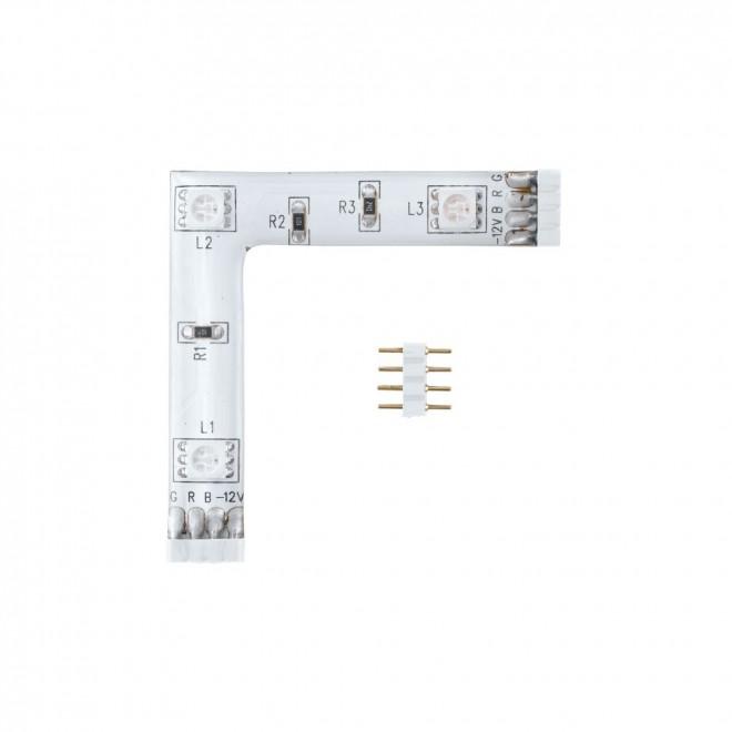 EGLO 92313   Eglo-LS-Module Eglo LED szalag RGB lámpa színváltós 1x LED RGBK fehér