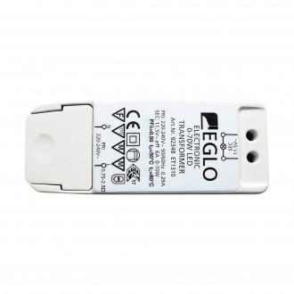 EGLO 92348 | Eglo LED tápegység 11,5V 0-40W 6A téglalap szabályozható fehér