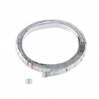 EGLO 92369 | Eglo_LS_Module Eglo LED szalag RGB lámpa színváltós 1x LED RGBK fehér