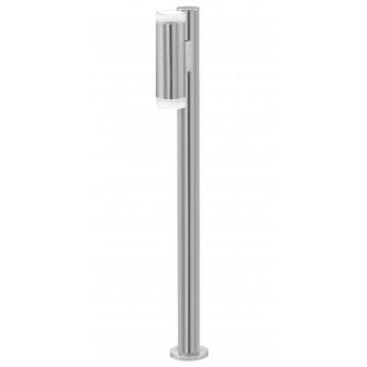 EGLO 92738 | RigaLED Eglo álló lámpa 80,5cm 2x GU10 400lm 4000K IP44 nemesacél, rozsdamentes acél