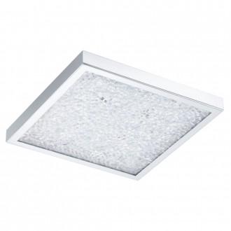 EGLO 92781 | Cardito Eglo mennyezeti lámpa távirányító színváltós 1x LED 1550lm + 4x LED 3000K króm, átlátszó