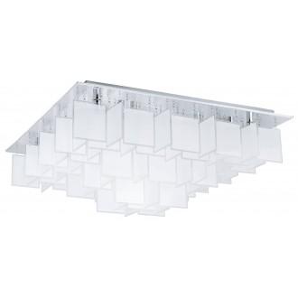 EGLO 92813 | Condrada_1 Eglo mennyezeti lámpa 16x G9 króm, fehér