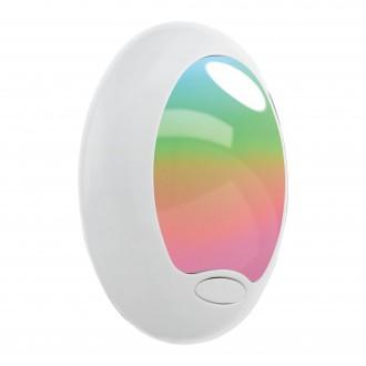 EGLO 92964 | Tineo Eglo konnektorlámpa lámpa kapcsoló 1x LED fehér, ezüst