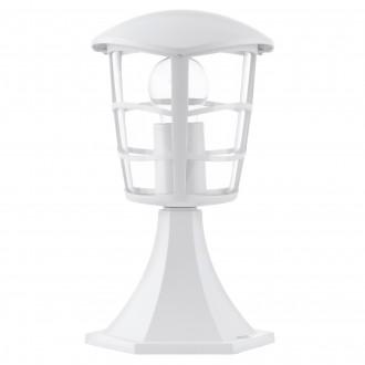 EGLO 93096 | Aloria Eglo álló lámpa 30cm 1x E27 IP44 fehér, áttetsző