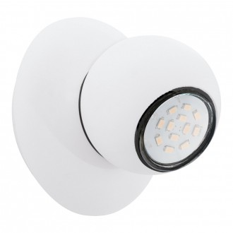 EGLO 93167 | Norbello_2 Eglo fali, mennyezeti lámpa elforgatható alkatrészek 1x GU10 400lm 3000K fehér