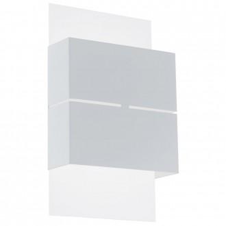 EGLO 93253 | Kibea Eglo fali lámpa 2x LED 360lm 3000K IP44 fehér