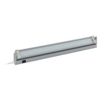 EGLO 93332 | Doja-LED Eglo pultmegvilágító lámpa kapcsoló 1x LED 350lm 4000K ezüst, áttetsző