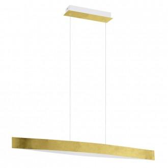 EGLO 93341 | Fornes Eglo függeszték lámpa 1x LED 1800lm 3000K arany, fehér