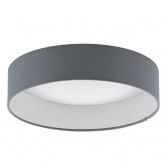 EGLO 93395 | Palomaro Eglo mennyezeti lámpa 1x LED 950lm 3000K fehér, antracit