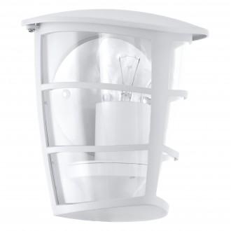 EGLO 93403 | Aloria Eglo falikar lámpa 1x E27 IP44 fehér, áttetsző