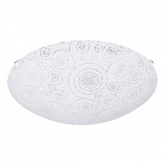 EGLO 93535 | Riconto Eglo fali, mennyezeti lámpa 1x LED 950lm 3000K fehér, áttetsző