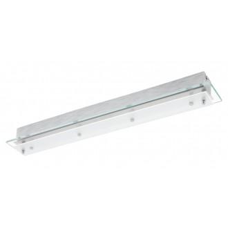EGLO 93887 | Fres_LED Eglo fali, mennyezeti lámpa 4x LED 2040lm 3000K króm, fehér, átlátszó