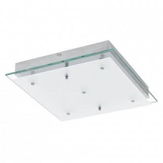 EGLO 93889 | Fres-LED Eglo fali, mennyezeti lámpa 5x LED 2550lm 3000K króm, fehér, átlátszó