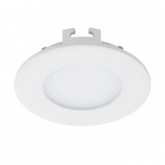 EGLO 94041 | Fueva_1 Eglo beépíthető LED panel kerek Ø85mm 1x LED 300lm 3000K fehér