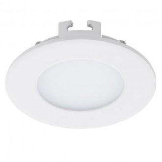 EGLO 94043 | Fueva_1 Eglo beépíthető LED panel kerek Ø85mm 1x LED 360lm 4000K fehér