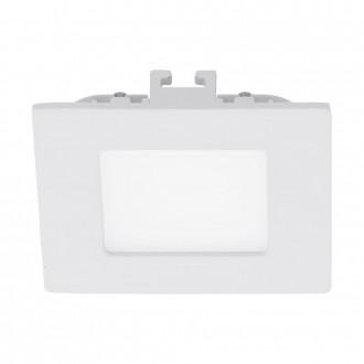 EGLO 94045 | Fueva-1 Eglo beépíthető LED panel négyzet 85x85mm 1x LED 300lm 3000K fehér