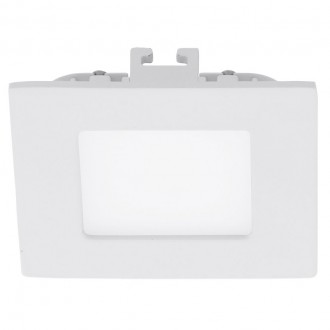 EGLO 94046 | Fueva_1 Eglo beépíthető LED panel négyzet 85x85mm 1x LED 360lm 4000K fehér