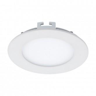 EGLO 94047 | Fueva_1 Eglo beépíthető LED panel kerek Ø120mm 1x LED 600lm 3000K fehér