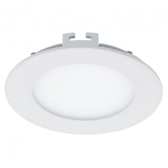 EGLO 94051 | Fueva-1 Eglo beépíthető LED panel kerek Ø120mm 1x LED 700lm 4000K fehér