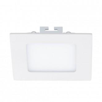 EGLO 94053 | Fueva_1 Eglo beépíthető LED panel négyzet 120x120mm 1x LED 600lm 3000K fehér