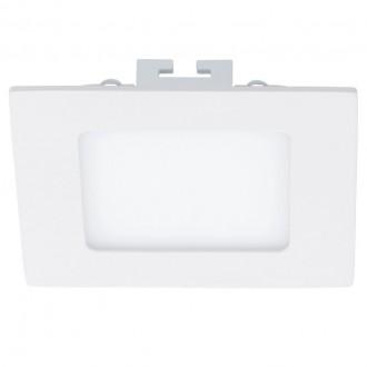 EGLO 94054 | Fueva_1 Eglo beépíthető LED panel négyzet 120x120mm 1x LED 700lm 4000K fehér