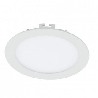 EGLO 94055 | Fueva_1 Eglo beépíthető LED panel kerek Ø170mm 1x LED 1200lm 3000K fehér