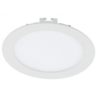 EGLO 94058 | Fueva-1 Eglo beépíthető LED panel kerek Ø170mm 1x LED 1350lm 4000K fehér
