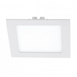 EGLO 94061 | Fueva_1 Eglo beépíthető LED panel négyzet 170x170mm 1x LED 1200lm 3000K fehér