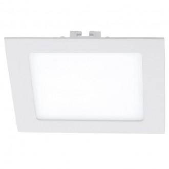 EGLO 94062 | Fueva_1 Eglo beépíthető LED panel négyzet 170x170mm 1x LED 1350lm 4000K fehér