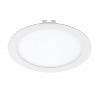 EGLO 94063 | Fueva_1 Eglo beépíthető LED panel kerek Ø225mm 1x LED 1600lm 3000K fehér