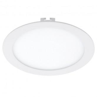EGLO 94064 | Fueva-1 Eglo beépíthető LED panel kerek szabályozható fényerő Ø225mm 1x LED 1600lm 3000K fehér
