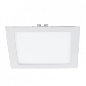 EGLO 94068 | Fueva-1 Eglo beépíthető LED panel négyzet 225x225mm 1x LED 1700lm 3000K fehér