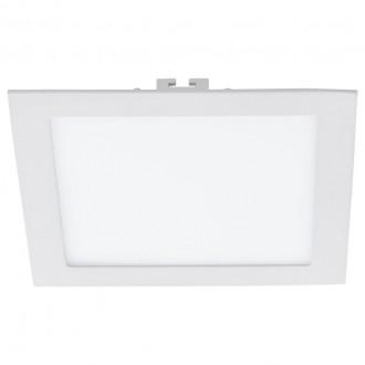 EGLO 94069 | Fueva-1 Eglo beépíthető LED panel négyzet 225x225mm 1x LED 2080lm 4000K fehér