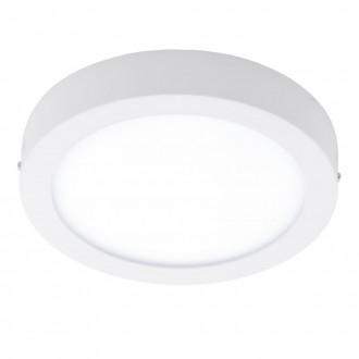EGLO 94075 | Fueva_1 Eglo fali, mennyezeti LED panel kerek 1x LED 1600lm 3000K fehér