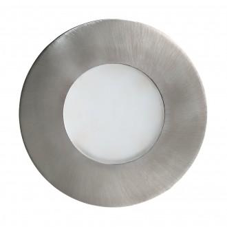 EGLO 94092 | Margo Eglo beépíthető lámpa Ø84mm 1x GU10 350lm 3000K IP65/20 nemesacél, rozsdamentes acél, fehér