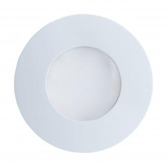 EGLO 94093 | Margo Eglo beépíthető lámpa Ø84mm 1x GU10 400lm 3000K IP65 fehér, opál