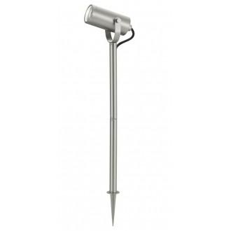EGLO 94109 | RigaLED2 Eglo leszúrható lámpa villásdugó - kapcsoló nélkül elforgatható alkatrészek 1x GU10 350lm 3000K IP44 nemesacél, rozsdamentes acél