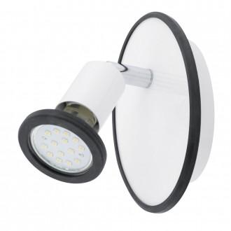 EGLO 94171 | Modino Eglo fali, mennyezeti lámpa elforgatható alkatrészek 1x GU10 240lm 3000K fehér, króm, többszínű