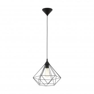 EGLO 94188 | Tarbes Eglo függeszték lámpa 1x E27 fekete