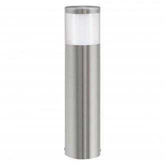EGLO 94278   Basalgo-1 Eglo álló lámpa 45cm 1x LED 320lm 3000K IP44 nemesacél, rozsdamentes acél, áttetsző, fehér