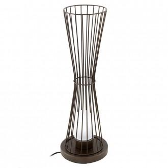 EGLO 94332 | Terrico Eglo álló lámpa 75cm 1x E27 IP54 barna, fehér