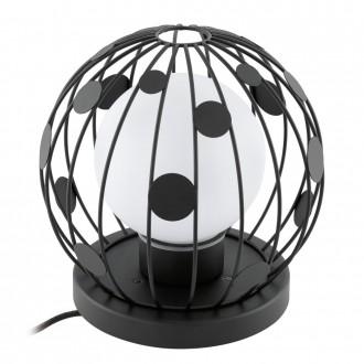 EGLO 94335 | Terrico Eglo álló lámpa 31cm 1x E27 IP54 fekete, fehér
