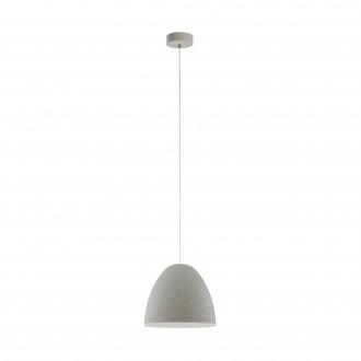 EGLO 94353 | Sarabia Eglo függeszték lámpa 1x E27 szürke
