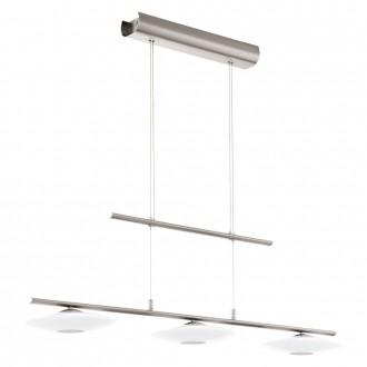 EGLO 94425 | Milea-1-LED Eglo függeszték lámpa ellensúlyos, állítható magasság 3x LED 1380lm 3000K króm, fehér