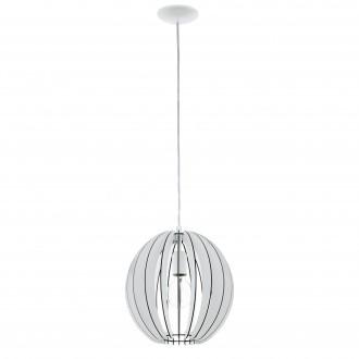 EGLO 94438   Cossano Eglo függeszték lámpa 1x E27 fehér